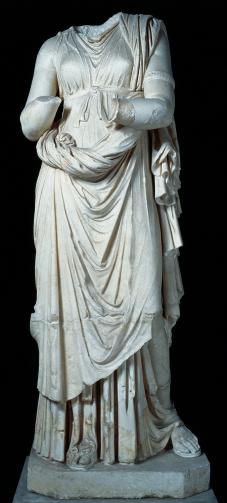 Statua di Igea, Scultura, I secolo a.C., Marmo, cm 211