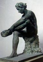 Bagnante 1939, bronzo Roma, Galleria Nazionale d'Arte Moderna, Inv. 3726
