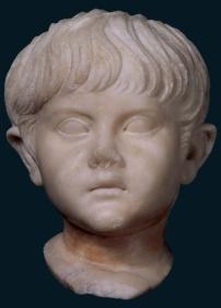 Ritratto di fanciullo della famiglia giulio-claudia