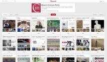 Canale Pinterest dei MiC