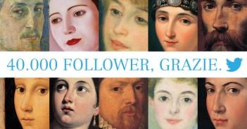 Ringraziamento per i 40.000 follower su Twitter (28 gennaio 2014)