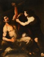 Luca Giordano, La punizione di Marsia, Museo Puskin