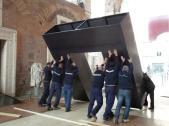 #ADayInTheLife ai Mercati di Traiano: oggi lavoriamo alla preparazione della mostra #Cencelle dal #3apr #MuseumWeek