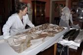 #MuseumWeek #DayInTheLife al Museo Napoleonico @museincomune il lunedì si riordina il deposito tessuti @ignaziomarino
