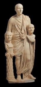 Togato Barberini, ultimo decennio del I secolo a.C
