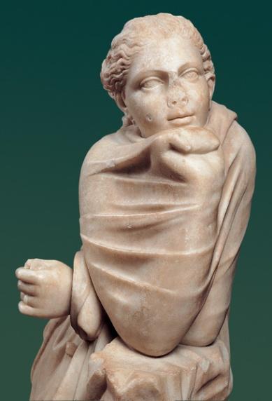 Statua di Musa: Polimnia, da originale di età ellenistica