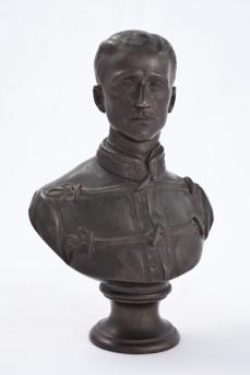 Belt Richard C., Busto del Principe Imperiale Napoleone Eugenio a 23 anni, bronzo, 1879