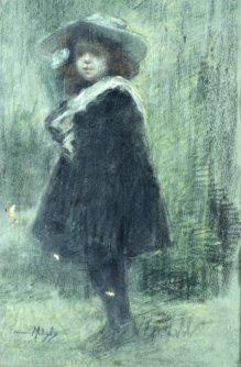 Corinna Modigliani, Ritratto di bimba