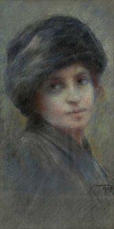 Corinna Modigliani, Ritratto di donna