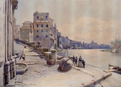 Ettore Roesler Franz, Porto di Ripetta