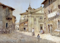 Ettore Roesler Franz, Via Chiesa Santa Bonosa, 1888