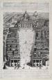 Ciro Santi (attivo nella seconda metà del XVIII secolo) Alzato del progetto di Cosimo Morelli per la sistemazione di Piazza San Pietro Post 1776 Acquaforte Roma, Museo di Roma, Gabinetto delle Stampe (inv. MR 10302)