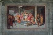 L'incoronazione di Antonio e Cleopatra, Luigi Fioroni, Affresco, 1840 ca., Casino Nobile
