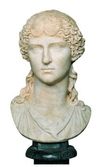 Ritratto di Agrippina Maggiore, Scultura, Marmo, 17-33 d.C., Musei Capitolini