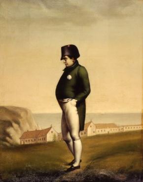 Napoleone in esilio a Sant'Elena, Olio su Tela, 1899, Museo Napoleonico