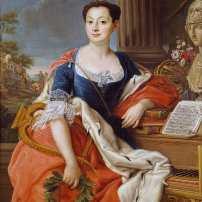 Camillo Loreti, Ritratto di Giacinta Orsini dei duchi di Gravina, 1773