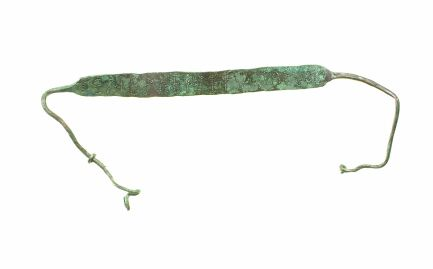 Collare da schiavo,Roma, P.co Archeologico di Ostia Antica, Archivio Fotografico