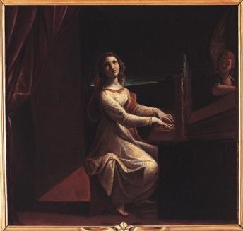 Santa Cecilia, Ludovico Carracci, 1613 ca.