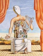 Giorgio de Chirico Orfeo solitario Dipinto 1973