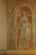 Palcoscenico la Musa Euterpe - Teatro di Villa Torlonia