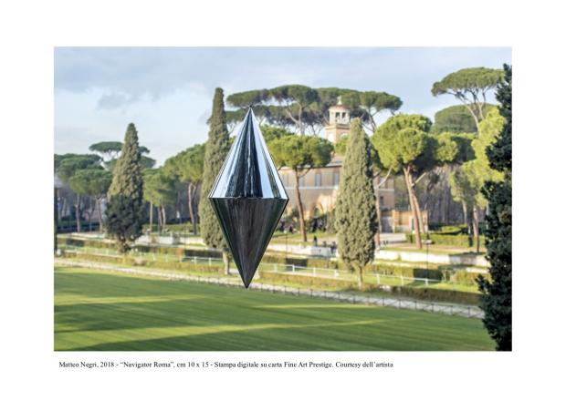 """18-Matteo Negri, 2018 - """"Navigator Roma"""", cm 10 x 15 - Stampa digitale su carta Fine Art Prestige. Courtesy dell_artista"""