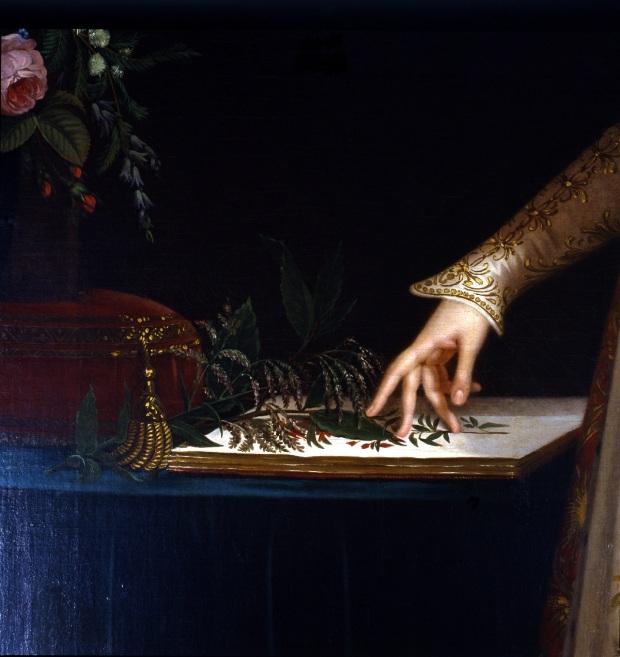 L'imperatrice Joséphine - particolare, Robert Lefèvre, 1805