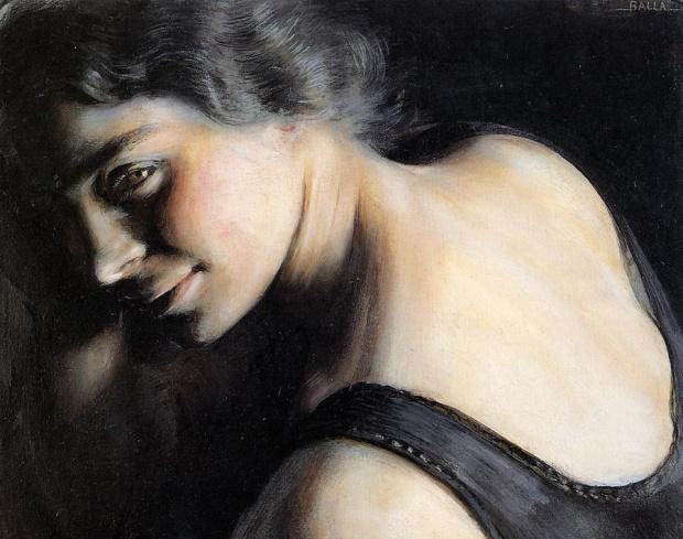 Il dubbio, Giacomo Balla, 1907-1908