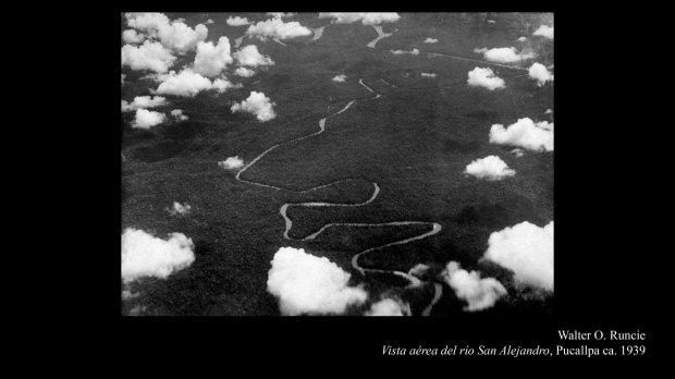 Walter O Runcie_Vista aérea del río San Alejandro Pucallpa ca 1939
