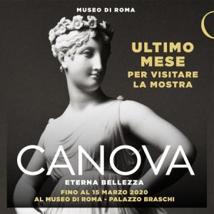 Canova. Eterna bellezza al Museo di Roma