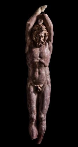 Statua di Marsia, Centrale Montemartini