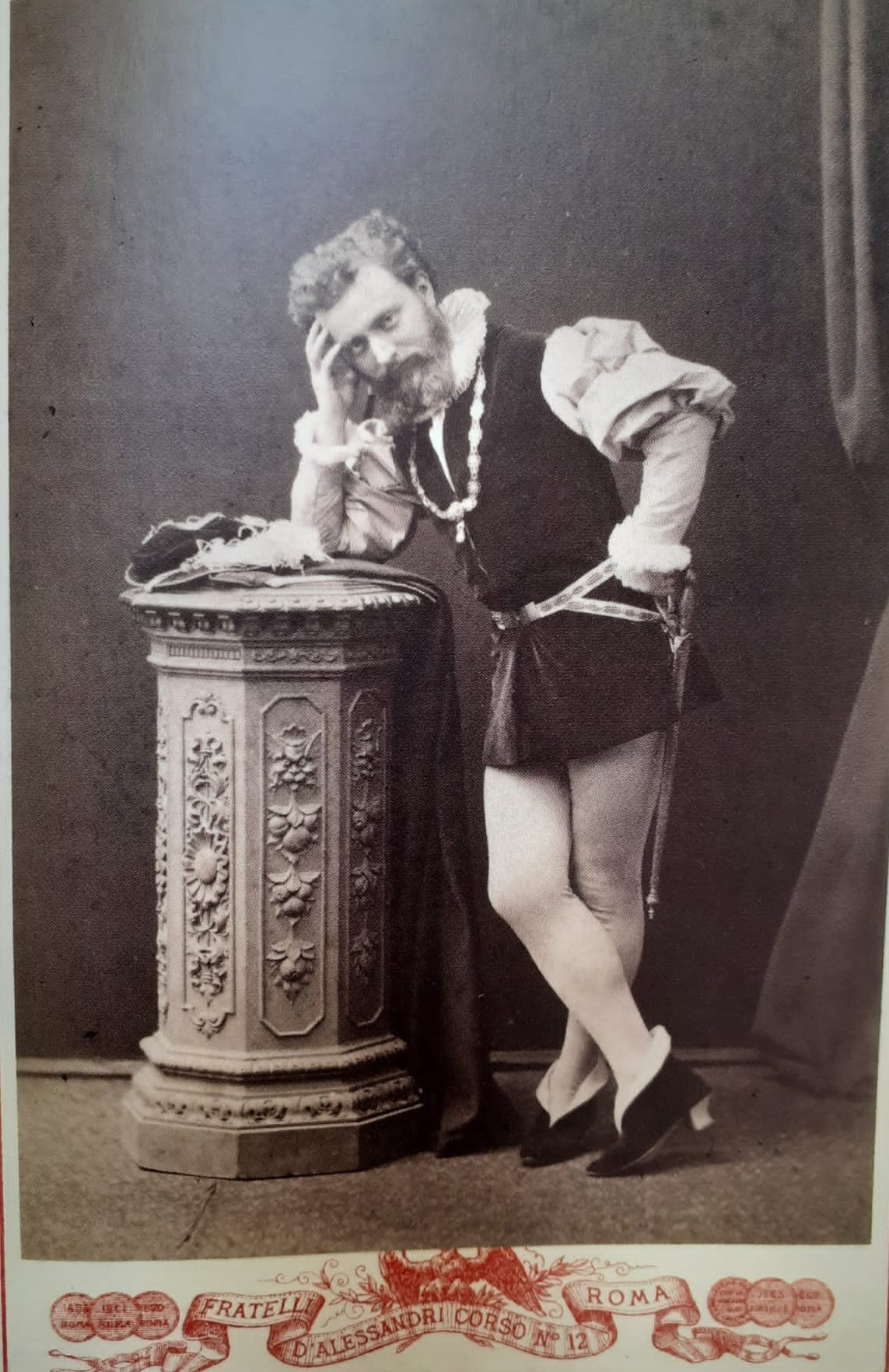 Giuseppe Primoli vestito da Francesco I